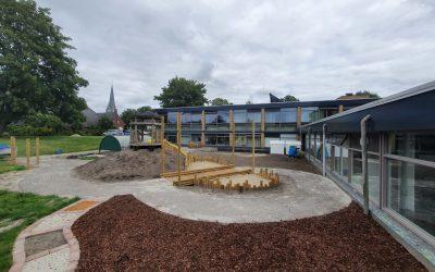Ontwikkelingen van onze nieuwe tuin!